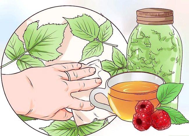 Imaginea intitulată Folosiți ceai de frunze de zmeură în timpul sarcinii Pasul 8
